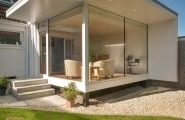 Strict Budget Extension Contemporary Garden Room Design : Excellent Ideas By Providing Shelter Small Garden Room Appear Larger Framing An Elegant Horizontal Proportion