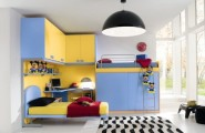 Ergonomic toys and clothes Storage For Kids Room : Excellent Luxury Kids Bedroom With A Lot Of Space Storage And Comfortable Working Place Decortion With Storage And Comfortable Working Place Decortion With Custom Cabinet