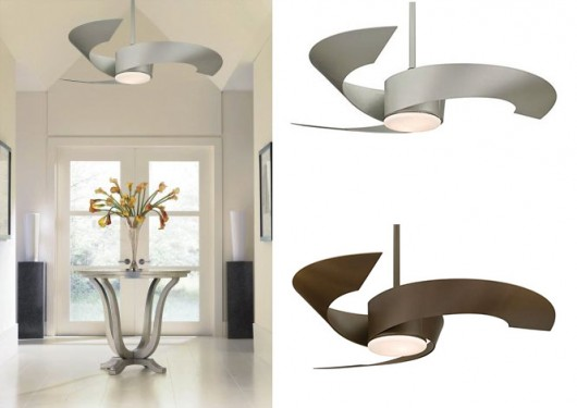 Fascinating Modern Ceiling Fans Design : Excellent Retractable Blade Ceiling Fans Ceiling Fan With Light Design
