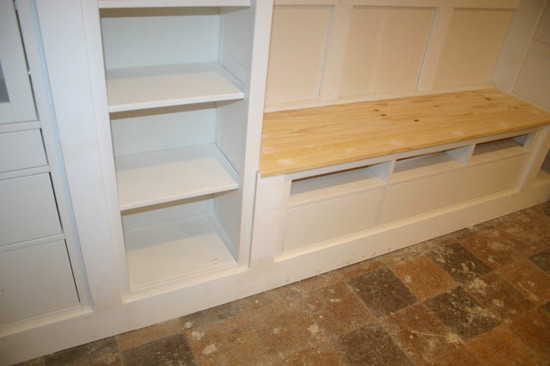 Very Cool Baseboards Styles : Exciting Home Design Baseboards Styles Hid The Legs Of Each Of The Pieces And Created The Built In Look Wide Baseboard To Cover Up Legs And Unify