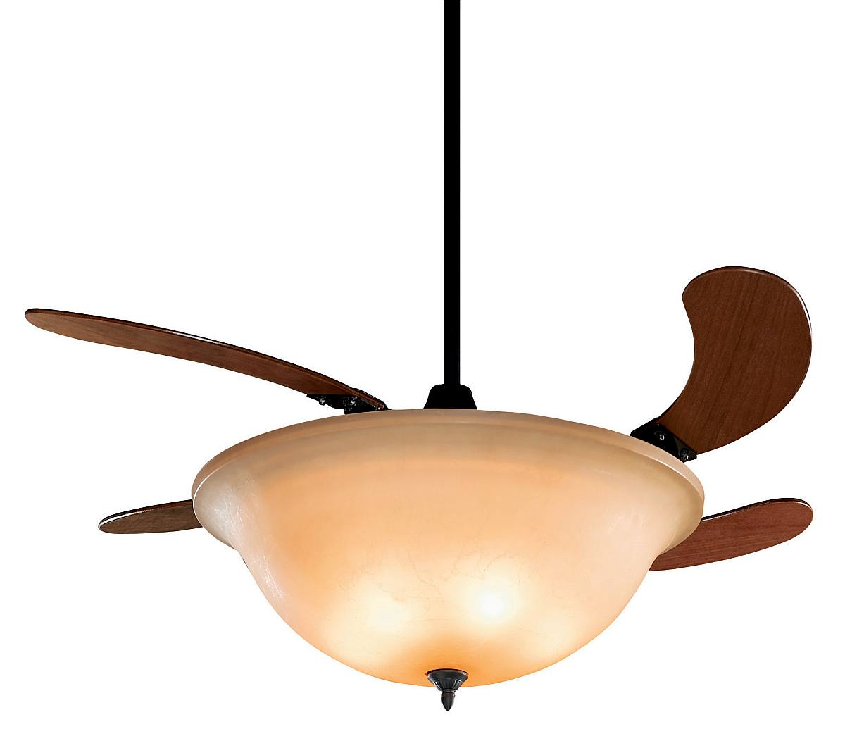 Innovative Ceiling Fan Ideas: Retractable Blade Ceiling Fans Design : Fanimation Air Shadow Parrot Model 810AM Is An Awesome Retractable Blade Ceiling Fan