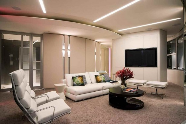 How To Design Remarkable Apartement With Limited Budget: Fantastic Apartment Interior Design With Remarkable Laminated Wooden Floor Design And Modern White Furniture Design ~ stevenwardhair.com Apartments Inspiration