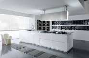 Great Unique Kitchen Provides a Magnetic Attraction That Brings Family : Faucet Washbasin Kitchen Cabinet Kitchen Appliances Modern Gas Stove