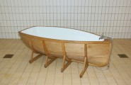 Stunning Most Creative Bathtub Design Ideas : Floating On The Water And Bathing In The Water Deal With So Much Similar Feelings And Elements That Combine In This Creative Boat Bathtub Design Ideas