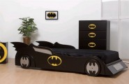 Genius Ways To Decorate Kids Rooms According To Their Favorites : Genius Ways To Decorate Kids Rooms According To Their Favorites With Super Hero Batman Car And Logo With Study Beds Desks To Closets To Covered Storage