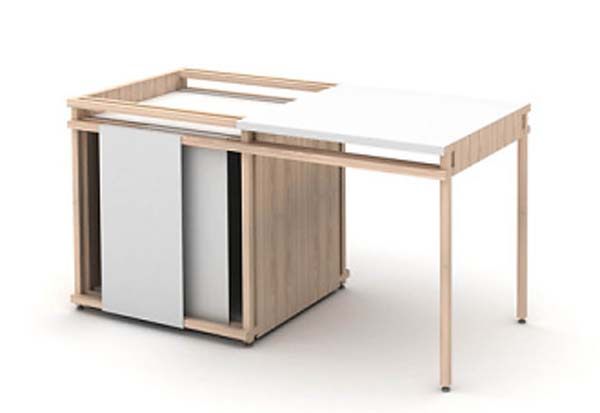 Pictures of Gorgeous Desk Designs : Gorgeous Desk Design Mark Holmes Track Desk 2