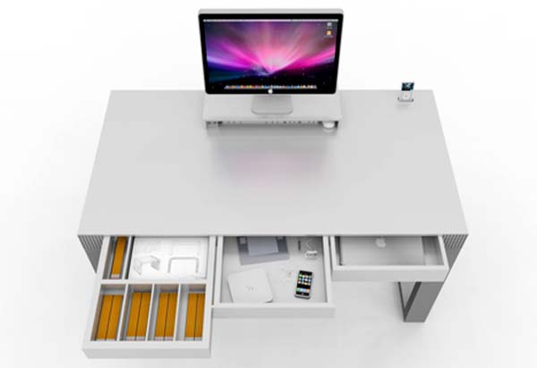 Pictures of Gorgeous Desk Designs : Gorgeous Desk Design Novanta 1