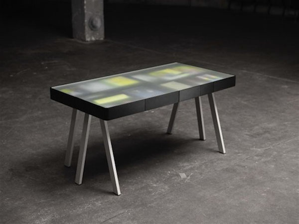 Pictures of Gorgeous Desk Designs : Gorgeous Desk Design Treasury Table Black 1