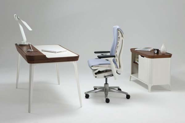 Pictures of Gorgeous Desk Designs: Gorgeous Desk For Modern Home Office Design By Kaijustudios 2