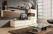 Great Design For Modern Living Room Furniture Ideas : Gorgeous Sleek Design For Modern Living Room Furniture Ideas Modern Modular Wall Units Living Rooms Leather Chairs Glass Coffee Table