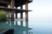 Astonishing Hotel with Great View : Hiltons Reflection Blue Waters Landscaping Inspiration