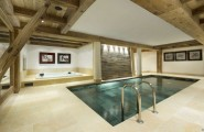 Breathtaking Cozy Resort For Your Family Holiday : Indoor Pool Concentrate Floor Five Artistic Painting Indoor Sauna Pool