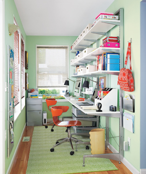 Office Space Organizing Is One Of The Keys To A Successful Business: Inspiring Home Office Space Organizing Ideas By Turn A Nook Into An Office ~ stevenwardhair.com Furniture Inspiration