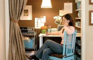 Office Space Organizing Is One Of The Keys To A Successful Business : Inspiring Office Space Organizing Ideas Closet Home Office Design