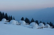 Winter Vacation Destination : WhitePod Alpine Ski Resorts In Swiss Alps : Inspiring Original Accommodation Units In The Shape Of Igloos Of Unique Ecological Concept WhitePods Alpine Ski Resort That Designed To Be In Total Harmony With The Surrounding Environment
