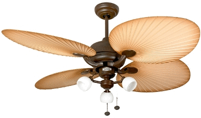 Fascinating Modern Ceiling Fans Design : Inspiring Palm Combi With Florence Ceiling Fan Design