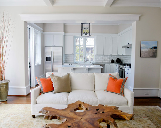 The Right Kind Of Tree Trunk Coffee Table: Inspiring Traditional Living Room Tree Trunk Coffee Table Has Been Converted Into The Coffee Table With A Metal Base Paint ColorTo Compliment The House Is Clean Lines And Colors