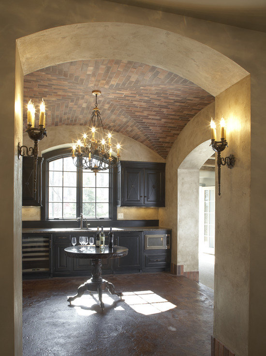 Best Faux Stucco Siding Pictures: Inspiring Traditional Wine Cellar Faux Stucco Siding Ceiling Real Brick Veneer Faux Finished Walls Great Colours And Wall Sconces
