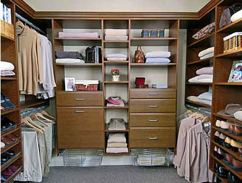 Photos Of Organizing Closet Design Ideas: Inspiring Walk In Closet Design Organize Ideas