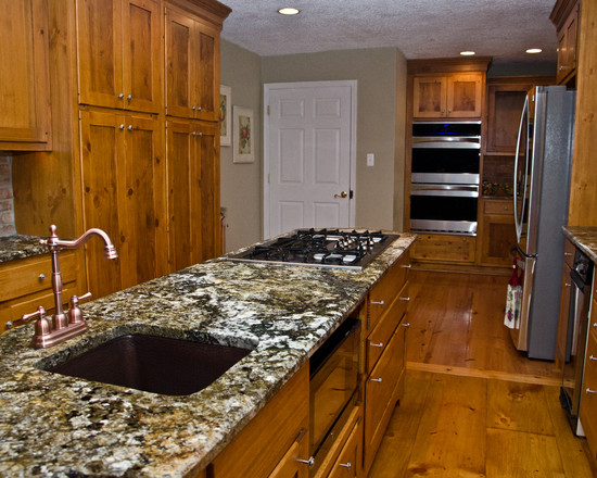 Wonderful Knotty Pine Wood Flooring Interesting Carnival Granite And Cabinets The Green