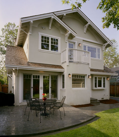 Beautiful Craftsman Style Home Colors : Interesting Craftsman Exterior Craftsman Style Home Colors Window And Trim Treatment With Smooth Stucco Finish Originated With The Prairie Architectural