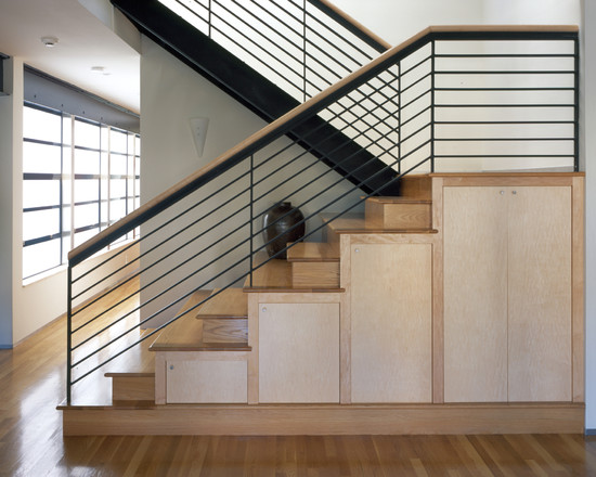 Amazing Toy Storage Cabinets: Interesting Toy Storage In Cabinets Under The Modern Staircase ~ stevenwardhair.com Cabinets Inspiration
