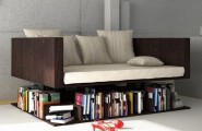Tips To Become An Interior Decorator : Interior Decorator Design Cool Sofa Levetating Above The Bookshelf Design Ideas