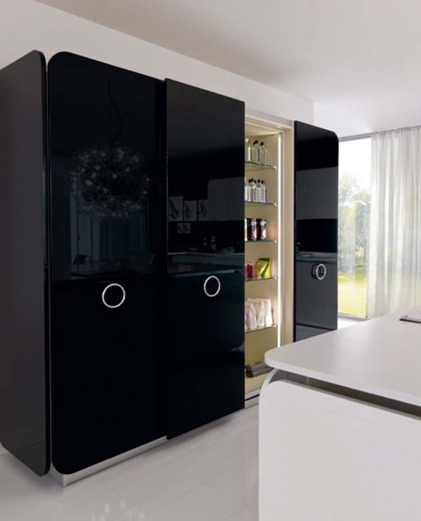 IT-IS Kitchen, Cooking With Love : IT IS Kitchen 5 Cool Kitchen Cabinet With Sliding Door Design Ideas