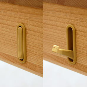 Awesome Retractable Coat Hook Design: Light Support Retractable Hook Design