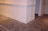 Inspiring Outside Flooring Ideas : Lincoln Square Chicago Traditional Basement Floor And Base Boards Wall Details
