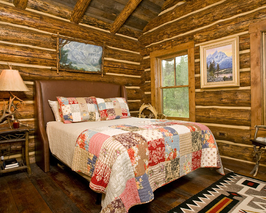 Quilt Designs For Babies Room : Lost Creek Rustic Bedroom Wood Wall And Numerous Classic Patterns And Traditions Regarding The Design And Characteristics Of Quilts