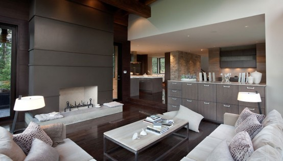 Luxury House With A Modern Contemporary Interior : Luxury House With A  Modern Contemporary Interior Perfect