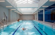 Mercedes House Manhattan Luxury Residences Building, Designed For Life : Mercedes House Amenities 3 Indoor Pool Design