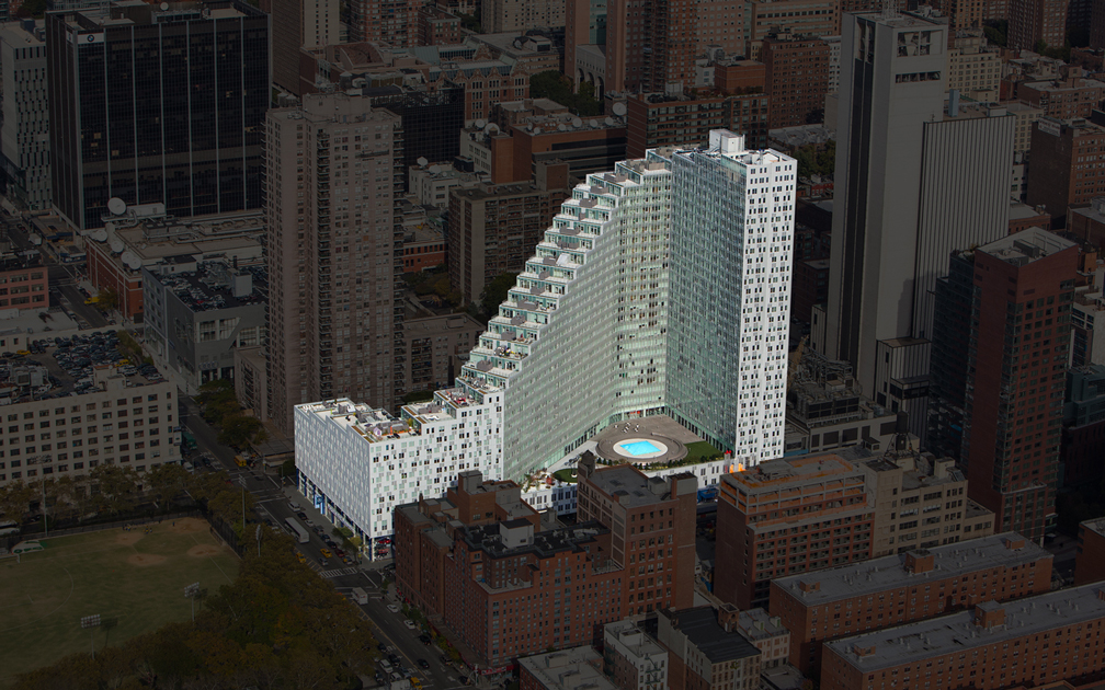 Mercedes House Manhattan Luxury Residences Building, Designed For Life : Mercedes House The Building 1