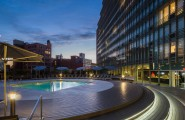 Mercedes House Manhattan Luxury Residences Building, Designed For Life : Mercedes House The Building 7 Clinton Corner Design Lamps Pool Chairs Umbrellas Ideas