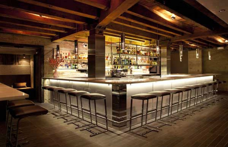 Design decorating minimalist restaurant design where for Modern bar designs pictures