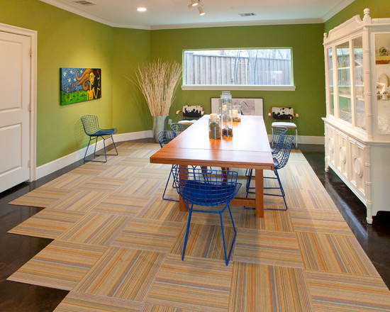 Interesting Floor Noise Reduction : Modern Dining Room Option Floor Tiles With Floor Noise Reduction