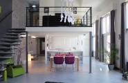 Beautiful Modern Mezzanines Design To Increase Square Footage Inspiration Ideas Part-1 : Modern Mezzanine Design Le Couvent Loft Is A 25 Sqm Chic Living Space Mezzanine Design Above The Hallway Kitchen And Dining Space