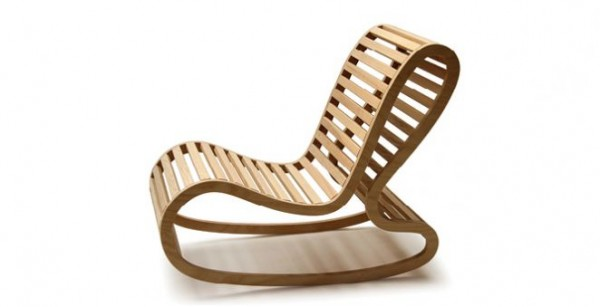 Modern Rocking Chair Design Ideas: Modern Rocking Chair Designed By David Trubridge