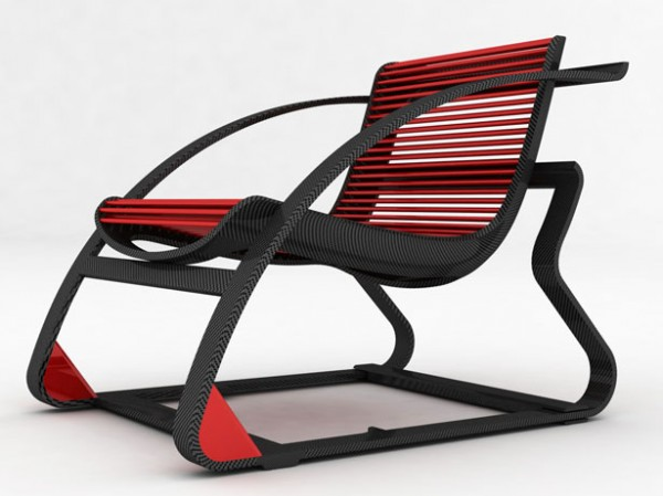 Modern Rocking Chair Design Ideas: Modern Rocking Chair Designed By Peter Vardai 1
