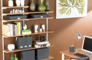 Marvellous Smart Space For Home Office Design : Modern Thoughtful Home Office Storage Solution Ideas That Stylish And Functional Modern Home Office Like A Designer That Make The Room Feels Cozy