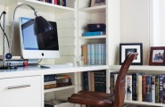 Charming And Thoughtful Home Office Storage Ideas : Modern Thoughtful Home Office Storage Solution Ideas With Trendy Desks Bookshelves Office Chairs File Cabinets And Desk Accessories For Your Library