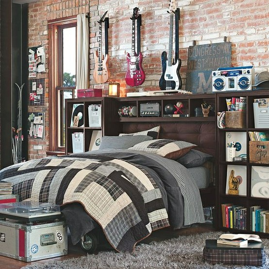 Cool Ways To Decorate A Room : Musician Boy Bedroom