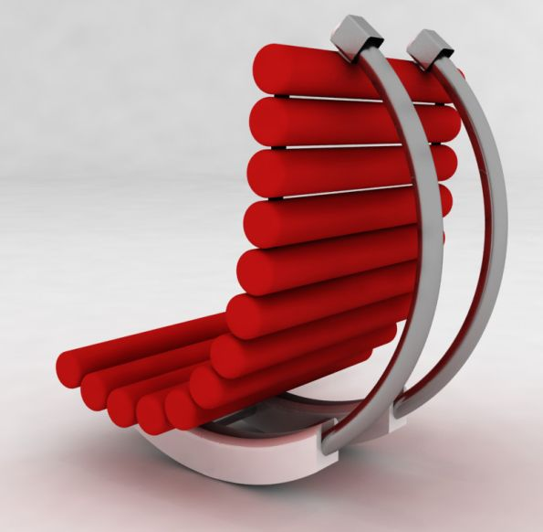 Modern Rocking Chair Design Ideas: Outdoor Rocking Chair From Peter Vardai