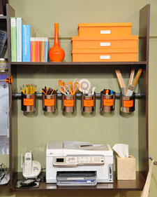 How To Organize Your Office Desk Space: Pens And Pencil Organization Ideas