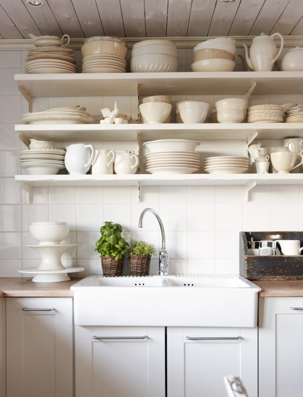 Rustic Elegant Kitchen Appliances Made From Stainless Steel: Rattan Pot Plants Ivory Tainless Steel Modern And Minimalist Kitchen Appliances Design Ideas Nd Tiny Green Plant Decoration ~ stevenwardhair.com Design & Decorating Inspiration