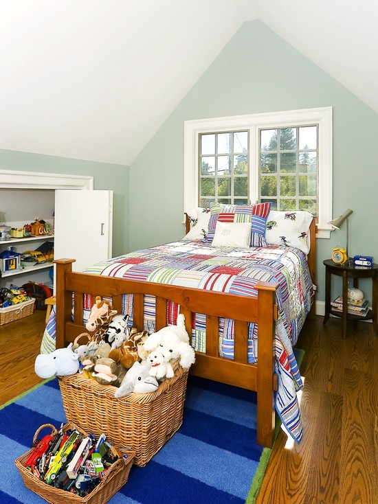 Amazing Toy Storage Cabinets : Room With Small Storage Closet And Kids Storage In Wall And Certainly The Under The Roof Space Is Perfect For Toy Storage