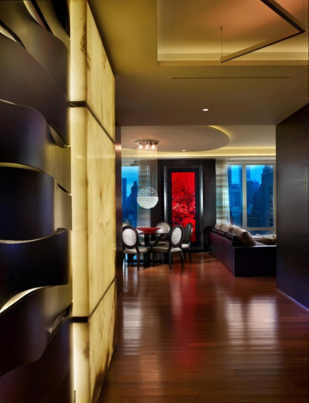 Small Apartment Design Ideas For Maximum Utilization: Shady Light Small Apartment Design Ideas For Maximum Utilization With Romantic Apartment Interior And Chinese Style Ornament Wood Laminated Floor Design ~ stevenwardhair.com Apartments Inspiration