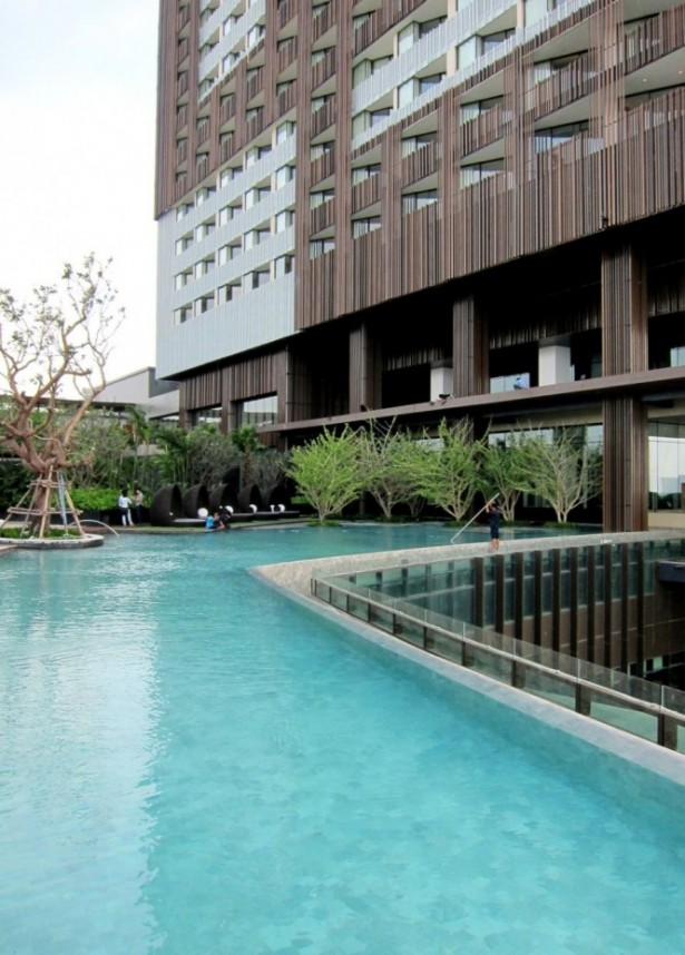 Astonishing Hotel with Great View: Shore At Hilton Pataya Landscaping Inspiration Brown Wall ~ stevenwardhair.com Design & Decorating Inspiration