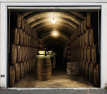 Great Ideas: Garages Door Posters: Single Garage Door Poster Wine Cellar